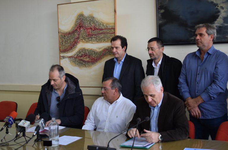 Υπεγράφη η Σύμβαση κατασκευής Επέκτασης Αλιευτικού Καταφυγίου Κιάτου